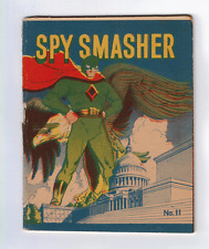 MIGHTY MIDGET COMICS SPY SMASHER #11 6.0 1942/43 OW/W PAGES