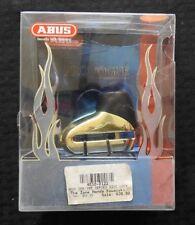 ABUS MOTORCYCLE SECURITY PROVOGUE 300 C/SB LUXUS GOLD CHROME BLACK 5mm NOS MINT