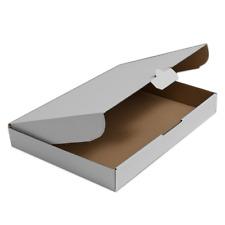 Confezione da 25 scatole pieghevoli di cartone per spedizioni 350 x 250 x 20 mm pacchi postali e lettere dimensioni