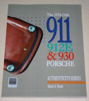Restaurierungsanleitung Porsche 911 G-Modell + 930 + 912 E, Baujahre 1974 - 1989