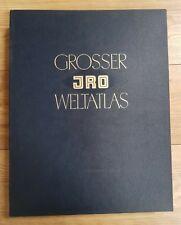 GROSSER JRO WELTATLAS by ERNST KRENLING - JRO - H/B - 1957