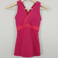 LULULEMON  | Womens Raspberry Pink Tank Top  [ Size AU 6 or US 2 ]