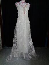 (113)Edles Damen Braut Standesamt Abend Kleid GR: M/40