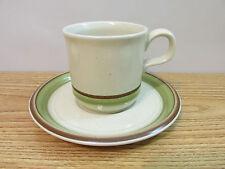 Vintage Fuji Stone Artichoke Hearts 3563 Tea Cups And Saucers 16 Pc.