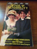 Sense and Sensibility (VHS, 1996, Closed Captioned)
