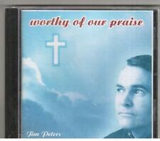CD JIM PETERS WORTHY OF OUR PRAISE 14 Tracks Contemporary Christian NEW