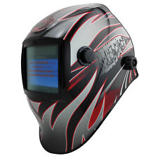 Bossweld XR4 VARIABLE SHADE ELECTRONIC WELDING HELMET 100x53mm View,Quad Sensors