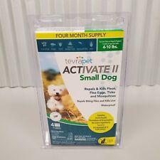 Tevrapet Activate Ii Small Dog 4-10 lbs Flea & Tick Treatment 4 Month Supply
