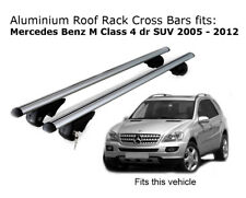 Aluminium Roof Rack Cross Bars fits MERCEDES BENZ M CLASS W164 2005-2012