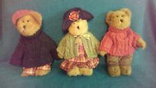 NWT Boyds Bears Bailey, Matthew & Edmund 2005 Fall Set