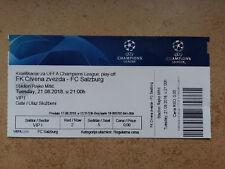Ticket CRVENA ZVEZDA BEOGRAD - FC SALZBURG 18/19 Champions League Serbia Austria