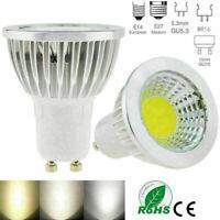 1/6PCS Dimmable LED Spotlight Bulb GU10 MR16 6W 9W 12W 15W COB Lamp LED Bulb -