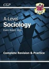 New A-Level Sociology: AQA Year 1 & 2 Complete Revision & Practice 9781782943563