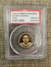 1910-12 Sweet Caporal P2 - Harry Gaspar Cincinnati Reds PSA 8 NMT/MT Pin