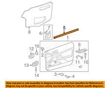 Scion TOYOTA OEM tC Door-Window Sweep Belt Molding Weatherstrip Left 6817221030