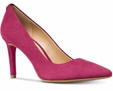 Michael Kors Dorothy Flex Pump Berry Suede Leather Women's Shoes US 7 M