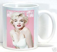 Marilyn Monroe Coffee Cup Ceramic Mug Vintage Hollywood Best Gift New