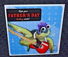 New  funny/humorous Happy Father's Day greetings card