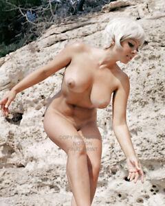 JUNE PALMER Color Big Boobs Classic Glamour 10 x 8 Photo No 2