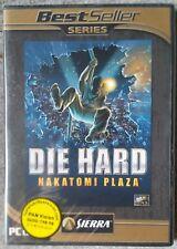 DIE HARD NAKATOMI PLAZA PC CD-ROM SIERRA BEST SELLER SERIES GAME new & sealed UK
