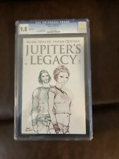 Jupiter's Legacy 1🔥Sketch Cover 1:25🔥 CGC 9.8🔥Netflix🔥Mark Millar🔥