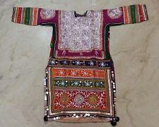 ETHNIC KUTCH BANJARA GYPSY TRIBE TRADITIONAL ZARI HAND EMBROIDERY KURTA DRESS