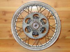 1973 Suzuki Champion TM250 TM 250 OEM Rear Wheel Rim Akront?