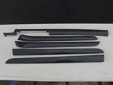 Audi A4 8E B6 Avant Kombi Dekorset Leisten Set Dekorleisten schwarz