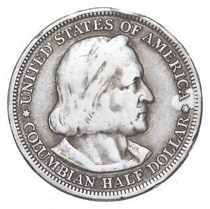 TOUGH - 1893 Silver Columbian Exposition U.S. Commemorative Half Dollar *465