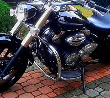 STAINLESS STEEL CLASSIC CRASH BAR ENGINE GUARD YAMAHA XVS 950 MIDNIGHTSTAR