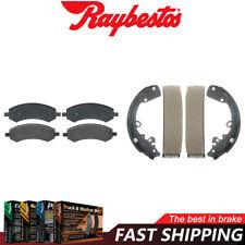 Centric Front Rear Metallic Brake Pads /& Brake shoes 2SET Fits Dodge Dakota