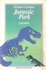 JURASSIC PARK - MICHAEL CRICHTON - ED. GARZANTI