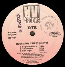 DTR – How Many Times? (Unity) - Nu Groove - NG-039 - Usa