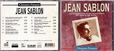 CD 12T JEAN SABLON CHANTONS FRANÇAIS BEST OF 1985 RARE