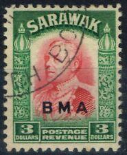 Used Single George VI (1936-1952) Sarawakian Stamps