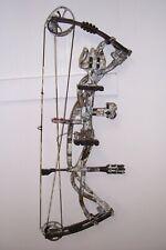 used hoyt carbon matrix right hand bow 70# ready to shoot