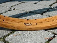 CB ITALIA pair (#2 rims) FIANDRE vintage wooden rims for tubular tires