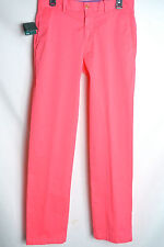 NWT Men's Bobby Jones Twill Golf Pants 30x33 $125 Maui Pink Cotton Blend Stretch