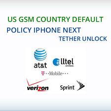 US GSM / VZW N61 / N56 Service Policy iPhone Next Tether Unlock
