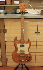 1979 Martin Sigma Electric Guitar Vintage SG Copy Made In Japan Natural Color