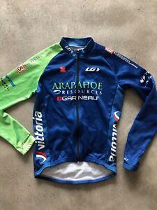 Louis Garneau Long Sleeve Jersey Cycling Team Araphahoe Resources USA Made