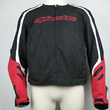 NWOT Alpinestars Padded Motorcycle Jacket with Liner - Womens Ladies XXL 2XL