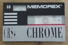 Cassette Tape Factory Sealed Memorex CRS + 60