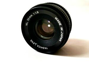Yashica Lens ML 1.9/50 Made in Japan