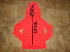 Girls Justice Active Softball Zip-Up Hoodie/Jacket Size 14