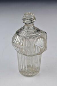 Early American Glass Hand Blown Bird Feeder 19th Century