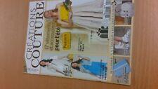 rare collector REVUE MAGAZINE  CREATION COUTURE numero 2 aout 2011