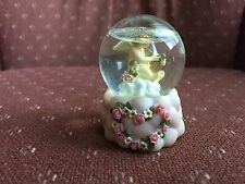 Lefton China 1996 Celestial Cherubs Collection By Jeffrey Snow Globe