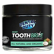 Natural Teeth Whitening Charcoal Powder - Made in USA - with Organic Coconut Act