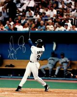 Ken Griffey Jr. Autographed Signed 8x10 Photo ( HOF Mariners ) REPRINT